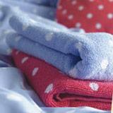 Handtücher und Bademäntel