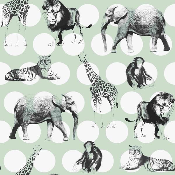 Safari- und Dschungeltiere