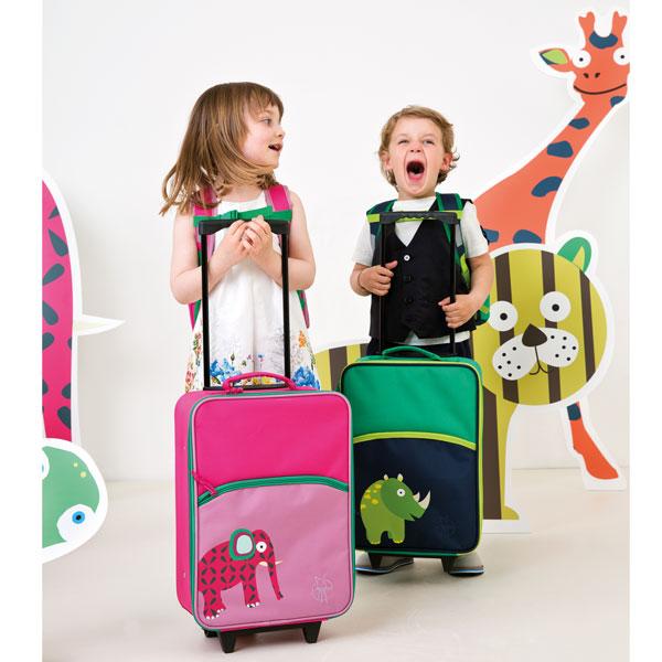 Kinderkoffer und Autoutensilos