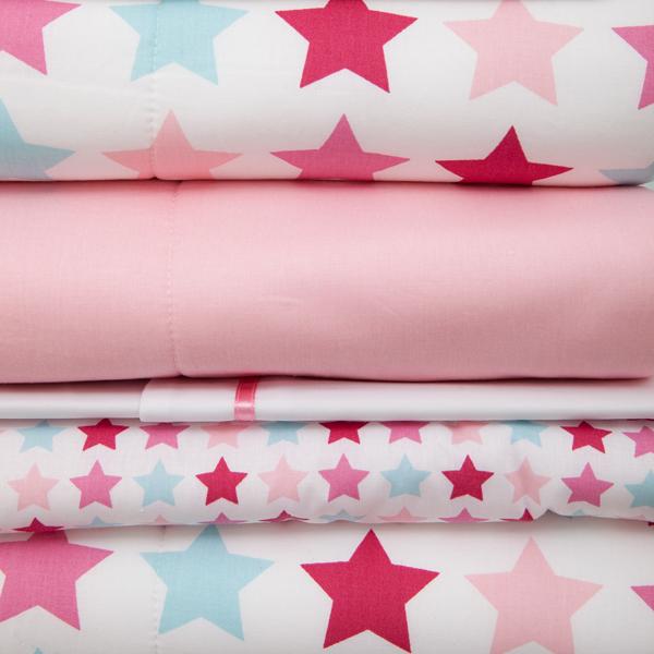 Kollektion Mixed Stars Pink