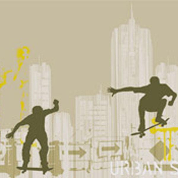 Surfer und Skater