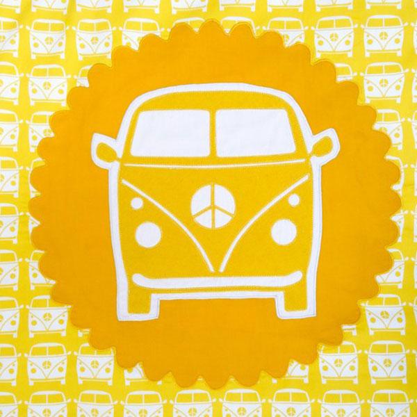Motiv VW Bus Gelb