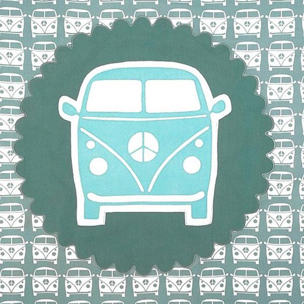 Motiv VW Bus Petrol