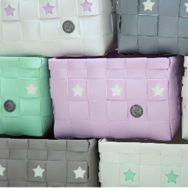 Körbe Sterne - viele Farben und Größen