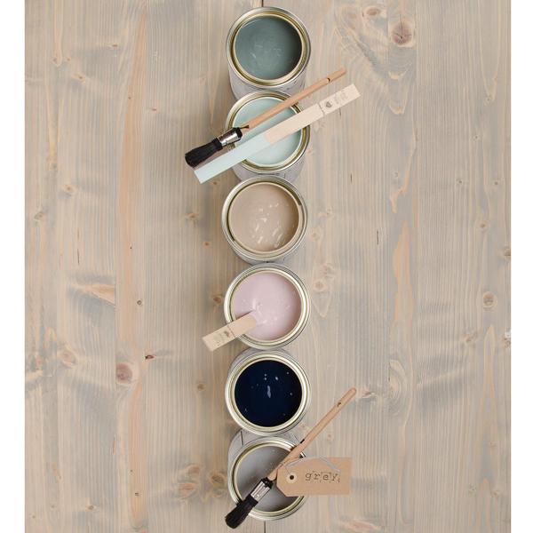 Wandfarbe und Dekoration