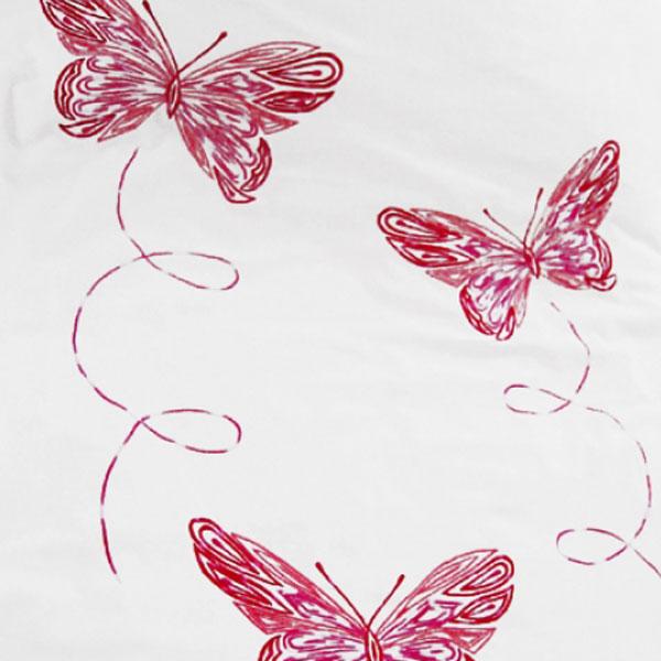 Motiv Blumen/Schmetterlinge