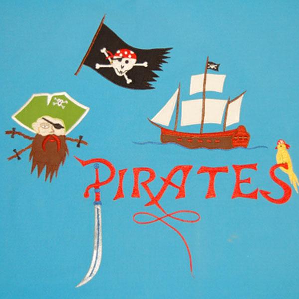 Motiv Piraten und Ritter