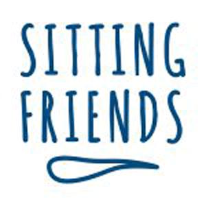 Sitting Friends - outdoorgeeignet