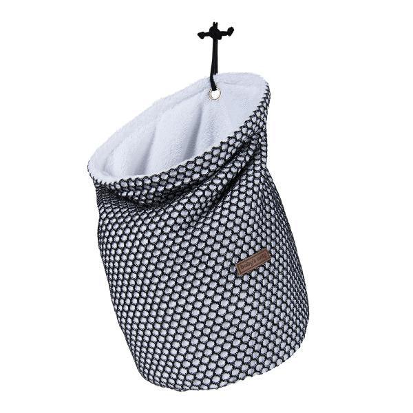 Baby's Only Pyjamatasche 'Sun' weiß/schwarz 35x22cm