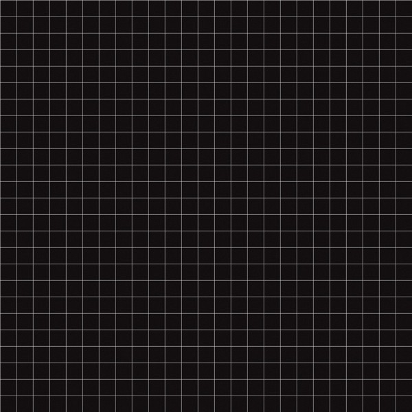 Lilipinso Vliestapete schwarz mit weißen Karos mittelgroß