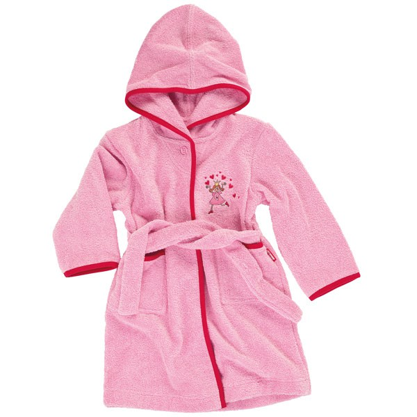 bademantel kapuze rosa: