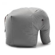 HAPPY ZOO Sitzsack Elefant CARL in grau