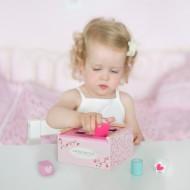 "Little Dutch Holz Steckspielzeug ""Pink Blossom"" pink/rosa"