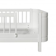 Oliver Furniture Wood Collection Umbauset von Mini+ halbhohes Bett in Mini+ Juniorbett 162cm in weiß