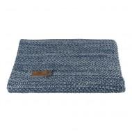 Baby's Only Babydecke 'River' jeansblau/grau 95x70cm