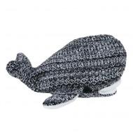 Baby's Only Kuscheltier Wal 'River' schwarz/weiß 30cm