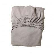 Leander 2er-Set Laken in light grey in 60x120cm
