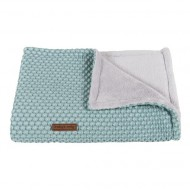 Baby's Only Babydecke 'Sun' mint/stonegreen 90x75cm