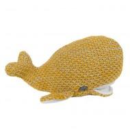 Baby's Only Kuscheltier Wal 'River' honiggelb/grau 30cm