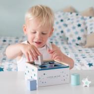 "Little Dutch Holz Steckspielzeug ""Mixed Stars Mint"" blau/mint/beige"