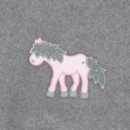 Annette Frank BIO-Babydecke 100x140cm Pony