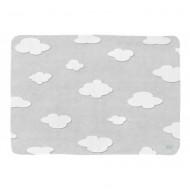 LOTTAS LABLE Softies Spieleteppiche Wolken Grau in 180x130cm