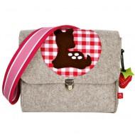"la fraise rouge Kindergartentasche aus Filz ""Bambi"""