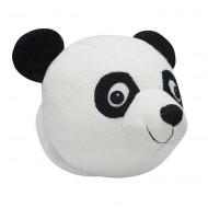 Kidsdepot Wandtrophäe Pandabär schwarz / weiß 25x25x18cm