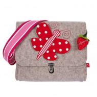 """la fraise rouge Kindergartentasche aus Filz """"Schmetterling"""""""