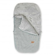 Baby's Only Buggy-Fußsack Robust hellgrau 98x52cm
