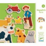 Djeco Holz Magnete: Farm