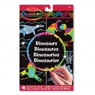 """Melissa & Doug """"Scratch Art"""" Dinosaurier"""