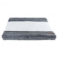 Baby's Only Wickelunterlagenbezug 'River' schwarz/weiß 45x70cm