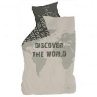 LIFETIME Bettwäsche Discover the World 135x200cm/80x80cm