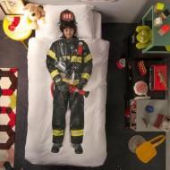 Snurk Bettwäsche Feuerwehrmann 135x200cm