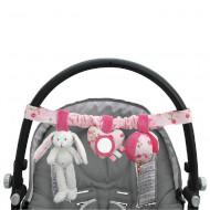 """Little Dutch Kinderwagenkette Hase """"Pink Blossom"""""""