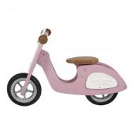 Little Dutch Holzspielzeug Roller / Laufrad rosa