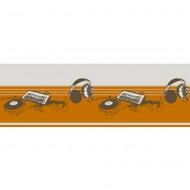 No Limit Bordüre Stereo beige-orange-braun