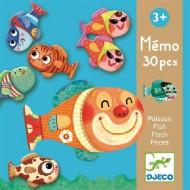 Djeco Lernspiel Memory: 'Memo Fisch'