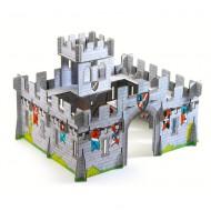 Pop to Play: Medieval Castle 3D-Burg aus Pappe von Djeco - ab 4 Jahren