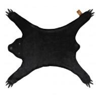 LIFETIME Teppich Black Bear - schwarz 150x70cm