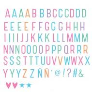 A Little Lovely Company Buchstabenset Pastell