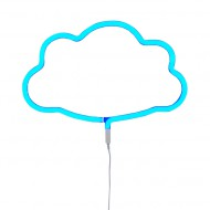 A Little Lovely Company Neonlicht Wolke blau