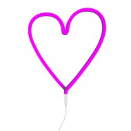 A Little Lovely Company Neonlicht Herz pink