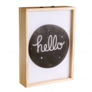 A Little Lovely Company Poster Lightbox A4