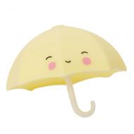 A Little Lovely Company Badespielzeug Regenschirm gelb