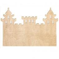 Teppich waschbar beige in Schlossform 120x160cm