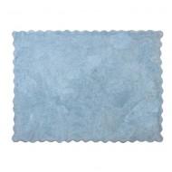 Teppich waschbar in hellblau 120x160cm