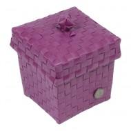 Handed By Ascoli - Kleine Kosmetik-/Haarspangenbox raspberry