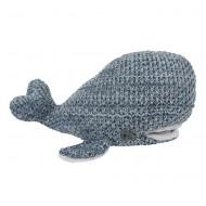 Baby's Only Kuscheltier Wal 'River' jeansblau/grau 30cm